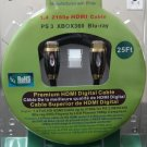 PREMIUM HDMI 1.4  2160p CABLE 25' - 3D READY!  COMPARE TO MONSTER CABLE!
