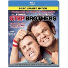 STEP BROTHERS (2-Disc Unrated) - BLU-RAY MOVIE (SEALED)