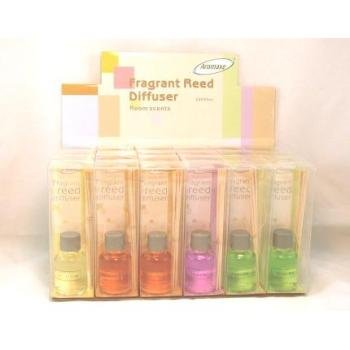 Lot of 24 Fragrant Reed Diffuser Display