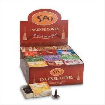 Lot of 96 Packs of 10 Sai Incense Cones