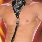 Leather Choker Harness & Thong - Item 212