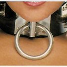 Wide Ring Buckle Choker - Item B84