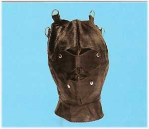 Leather Hood with Covers - Item 9011