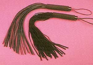 Leather Flogger - Item 114