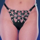 "Leather ""Strappy"" G-String - Item 35"