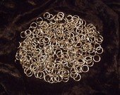 "ChainMaille (Jewelry) Supplies~250 Stainless Steel Jump Rings .041g-1/4""ID *FREE WORLDWIDE SHIPPING"
