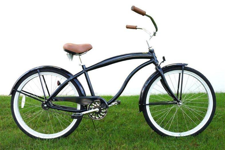 "GREENLINE MENS 26"" Kruiser 1APM Single Spd Beach Cruiser Bicycle/ALUMINUM-Choose Color In Photos"