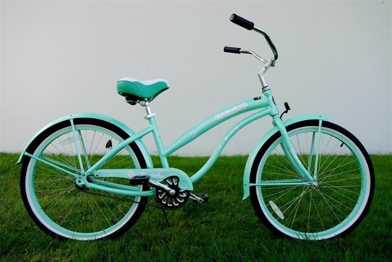 "GREENLINE LADIES 26"" Kruiser 1APL Single Spd Beach Cruiser Bicycle/ALUMINUM-Choose Color In Photos"