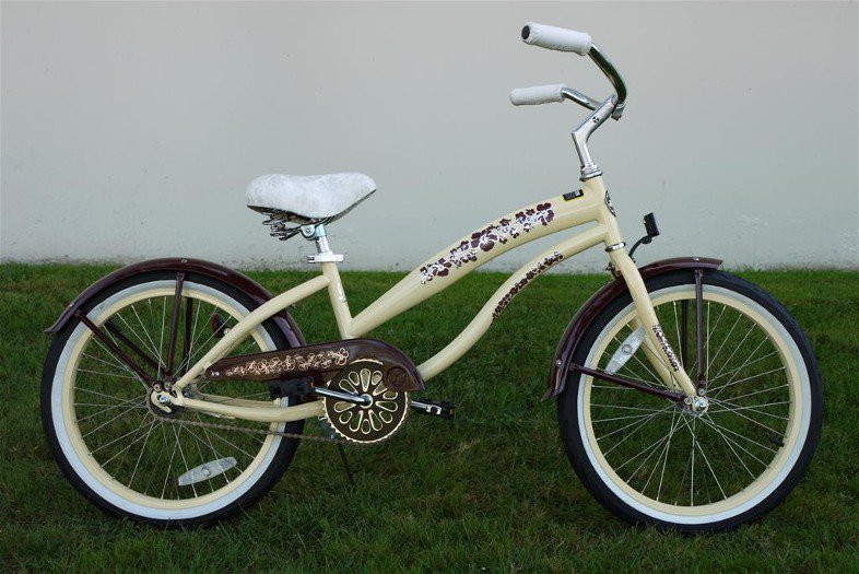 """GREENLINE GIRLS 20"""" BC-2006L Single Speed Beach Cruiser Bike Bicycle/STEEL-Choose Color in Photos"""