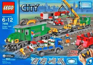 Lego City Cargo Train Deluxe