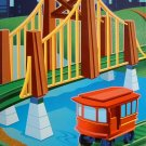 Geo Trax Sky High Suspension Bridge Fisher-Price GeoTrax New