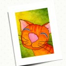 Here Kitty Kitty Greeting Card Series - Sunny