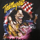 TED NUGENT Whiplash Bash Concert Tour Shirt.