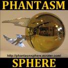 GOLD PHANTASM SPHERE Metal Ball Prop Replica, Tall Man part 3