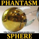 "BIG 5"" 1:1 Scale GOLD PHANTASM SPHERE Metal Ball Prop Replica, Tall Man"