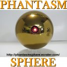 "*Larger (4.5"") Gold Laser (blinking) style PHANTASM SPHERE Ball Prop Replica + Pointer ""Remote"""