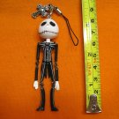 Jack Skellington Figure ornament, keychain swing decoration. Smiling Face