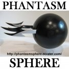 PHANTASM SPHERE Ball Prop Replica BURNT BLACK JODY style part 3