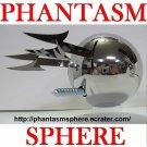 Metal PHANTASM SPHERE Ball Prop Replica poster style