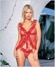 Babydoll-Sexy Wear Lingerie LA-8814 $18.25