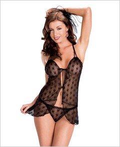 Babydoll-Sexy Wear Lingerie SM-80543 $20.86