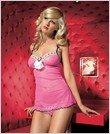 Chemise-Sexy Wear Lingerie LA-86040 $35.00