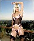 Camisole-Sexy Wear Lingerie LA-8460 $30.00