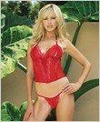 Bustier - Sexy Wear Lingerie LAS-81050 $15.50