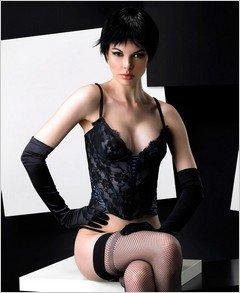 Bustier - Sexy Wear Lingerie SM-80294 $33.74
