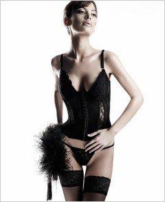 Bustier - Sexy Wear Lingerie SM-80259 $36.86