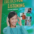 TACTICS FOR LISTENING ESL Text Home School CD Incl