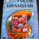 FOCUS ON GRAMMAR ESL Textbook w/Audio CD Home School