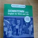 Downtown Basic Teacher's Edition w/Art Bank CD-ROM ESL