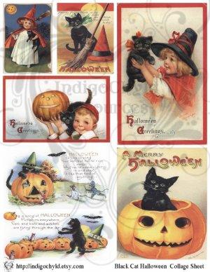 Vintage Digital Collage Sheet 2