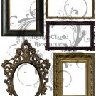 Antique Frames Digital Collage Sheet