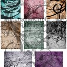 ATC Grunge Background Digital Sheet