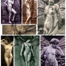 Nude Fairies Digital Collage Sheet