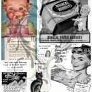 Kitsch 1948 Ad Digital Collage Sheet 4