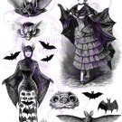 Batty For You Digital Collage Sheet