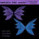 Garden Fae Wings