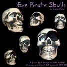 Pirate Skull PNG Pack
