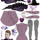 Doll Base PDF Digital Collage Sheet