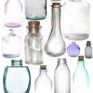 Captured Jars and Bottles Digital Collage Sheet JPG