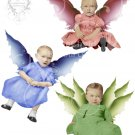 Spring Fairy Babies Digital Collage Sheet JPG