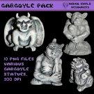 Gargoyle Png Pack