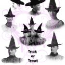 Salem Witches Digital Collage Sheet JPG