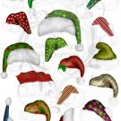 Elf Hats Digital Collage Sheet JPG