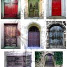 Entrance Way ATC Digital Collage Sheet JPG