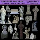 Cemetery PNG Pack 1