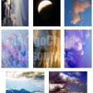 Cloudy Days ATC Digital Collage Sheet